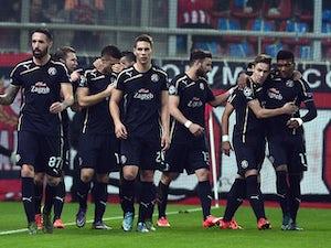 Dinamo Zagreb lead Olympiacos