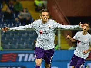 Fiorentina ease past Sampdoria