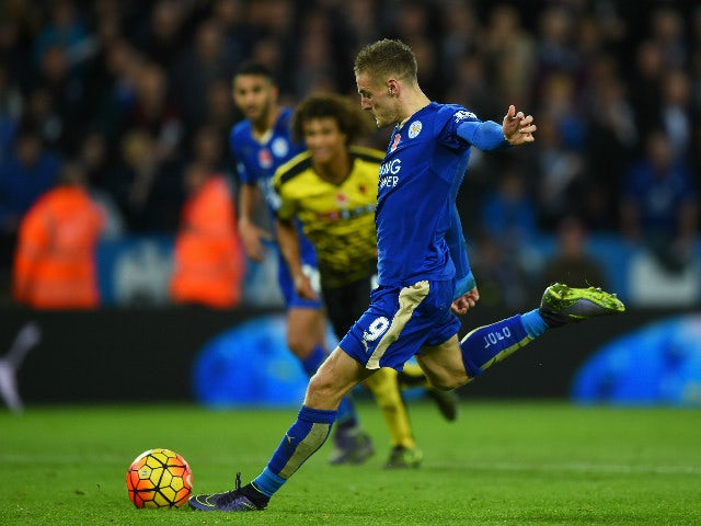 Result: Vardy strikes again in Leicester victory