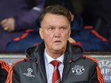 Manchester United's Dutch manager Louis van Gaal looks on during a UEFA Chamions league group stage football match between CSKA Moscow and Manchester United at Old Trafford in Manchester, north west England on November 3, 2015