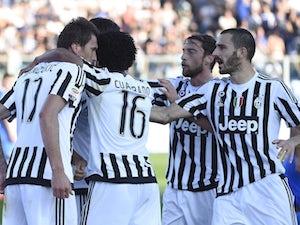 Team News: Three changes for Juventus against Lazio