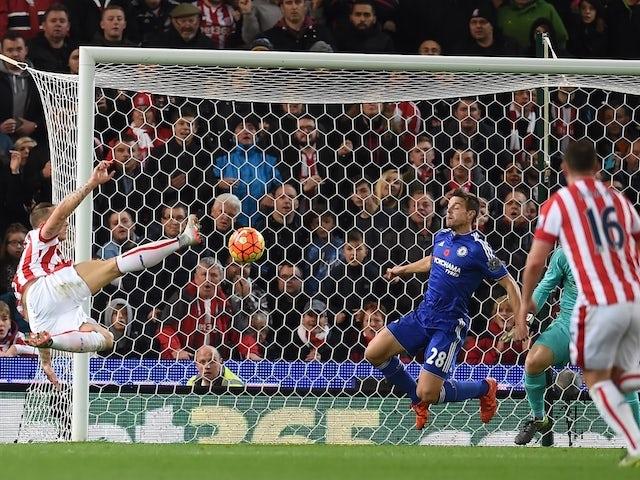 Result: Marko Arnautovic strike downs Chelsea
