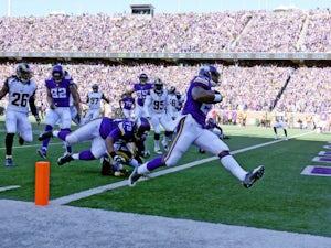 Half-Time Report: Vikings take firm lead over Raiders