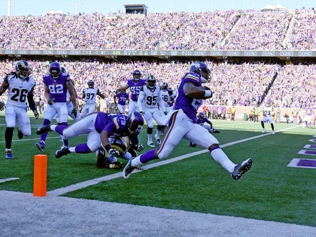 Result: Minnesota Vikings scrape past Rams in OT