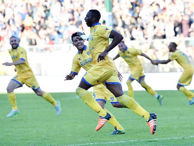 Result: Ten-man Genoa salvage draw at Frosinone