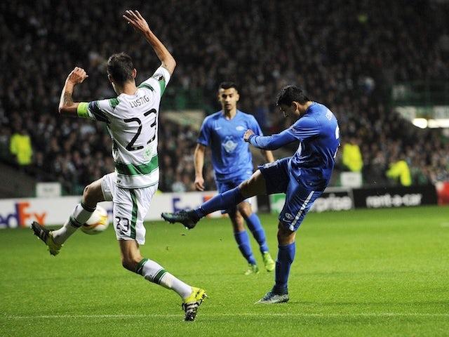 Result: Celtic remain bottom after Molde loss