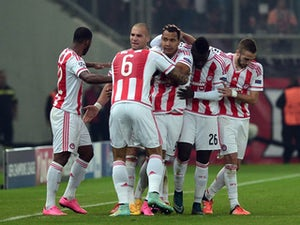 Olympiacos seal comeback with late goal