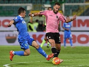 Riccardo Saponara strike downs Palermo
