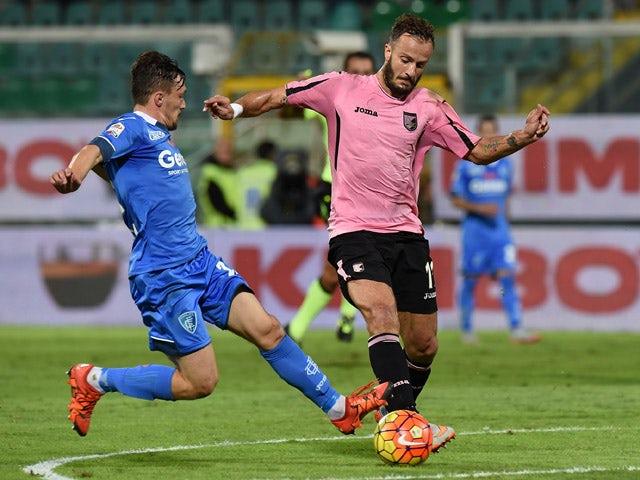Result: Riccardo Saponara strike downs Palermo