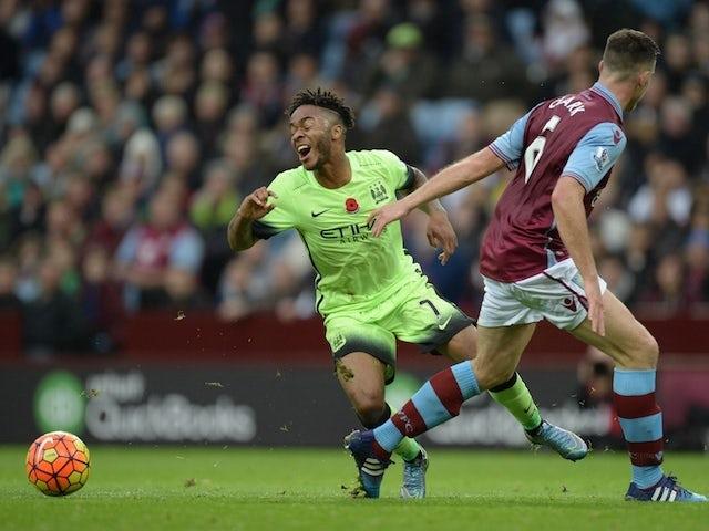 Result: Aston Villa, Man City share points