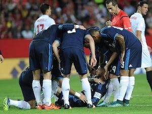 Llorente strikes as Sevilla stun Real