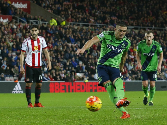 Result: Tadic penalty gives Southampton win