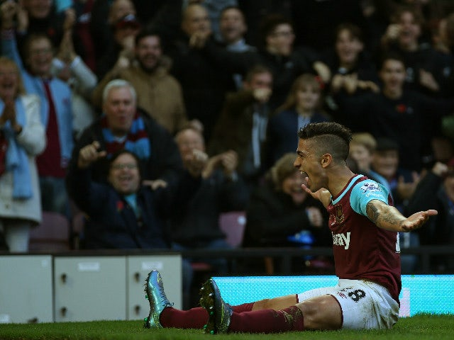 Result: West Ham out of drop zone with victory over Palace