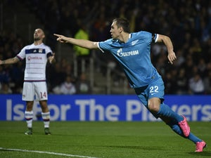 Live Commentary: Lyon 0-2 Zenit - as it happened