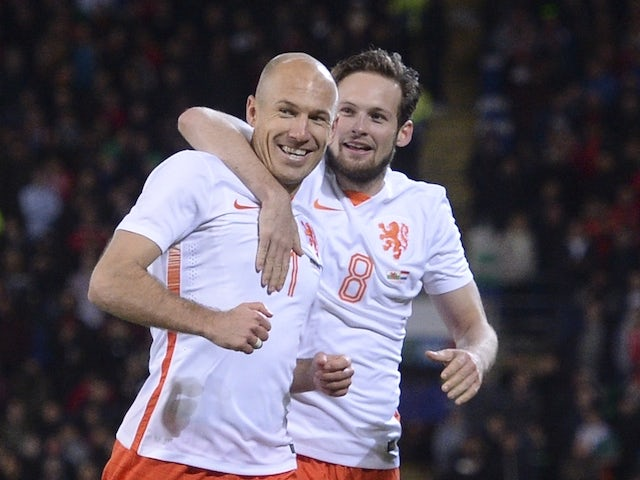 Netherlands beat Belarus 3-1 in 2018 FIFA World Cup qualifier