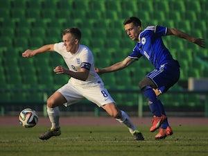 Ten-men England U21s stifled in Bosnia