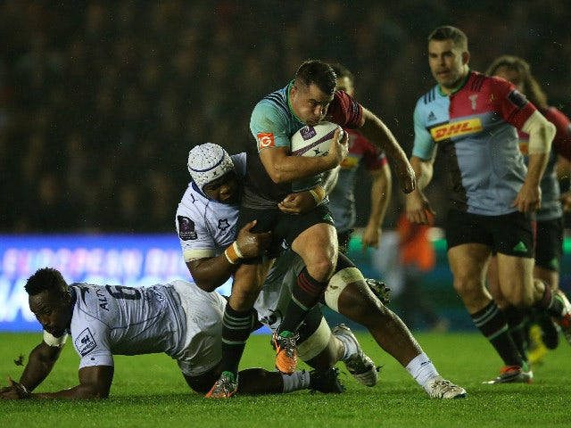 Result: Quins come from behind to beat Montpellier