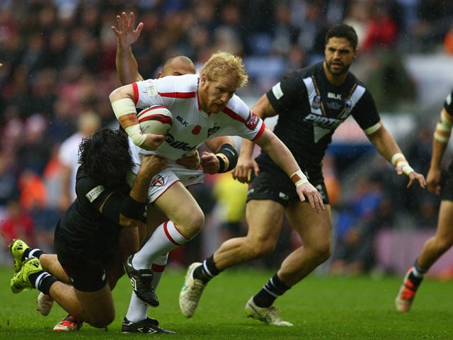 James Graham concentrating on England captaincy role