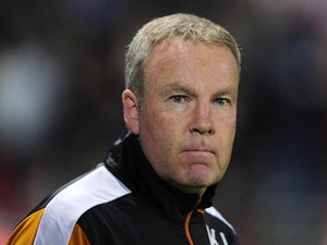 Wolverhampton Wanderers Manager Kenny Jackett during the Sky Bet Championship match between Bristol City and Wolverhampton Wanderers at Ashton Gate on November 3, 2015