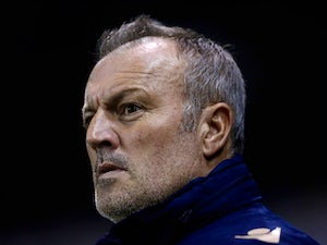 Neil Redfearn, manager of Leeds United looks on during the Sky Bet Championship match between Derby County and Leeds United at Pride Park Stadium on December 30, 2014