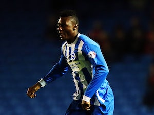 Rohan Ince of Brighton & Hove Albion looks in action during the Sky Bet Championship match between Brighton & Hove Albion and Rotherham United at Amex Stadium on September 15, 2015