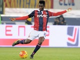 Amadou Diawara # 21 of Bologna FC in action during the Serie A match between Bologna FC and FC Internazionale Milano at Stadio Renato Dall'Ara on October 27, 2015