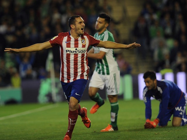 Result: Atletico up to second with victory