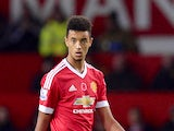 Manchester United's English defender Cameron Borthwick-Jackson walks on the pitch during the English Premier League football match between Manchester United and West Bromwich Albion at Old Trafford stadium in Manchester, north west England, on November 7,