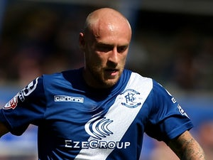 David Cotterill of Birmingham in action during the Sky Bet Championship match between Birmingham City and Reading at St Andrews Stadium on August 8, 2015 in Birmingham, England.