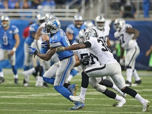 Stafford touchdown guides Lions past Raiders