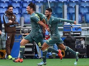 Lazio trailing against Palermo