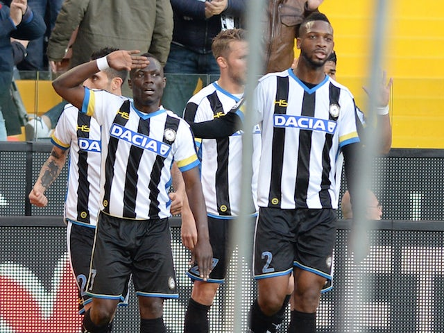Result: Sampdoria and Sassuolo share points in Serie A draw