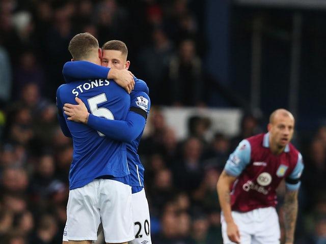 Result: Impressive Everton thrash Aston Villa