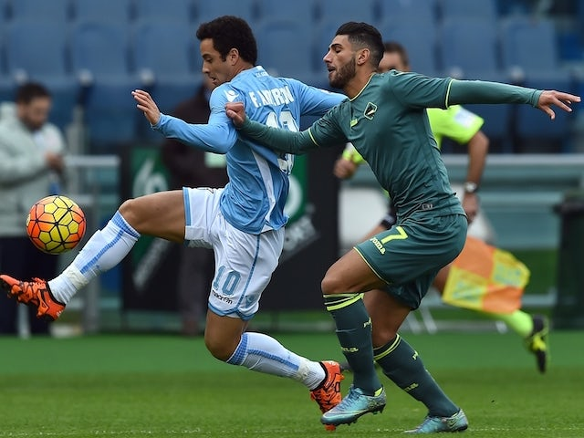 Result: Lazio fight back to hold Palermo