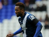 Jacques Maghoma of Birmingham City during the Sky Bet Championship match between Birmingham City and Queens Park Rangers at St Andrews on October 17, 2015 in Birmingham, England.