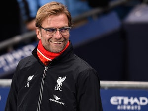 Jurgen Klopp, manager of Liverpool looks on during the Barclays Premier League match between Manchester City and Liverpool at Etihad Stadium on November 21, 2015 in Manchester, England.
