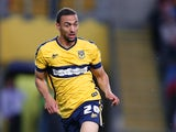 Kemar Roofe of Oxford United in action during the Sky Bet League Two match between Oxford United and Northampton Town at Kassam Stadium on April 14, 2015 in Oxford, England.