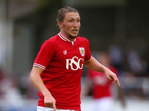 Luke Ayling of Bristol City during the Pre Season Friendly match between Bath City and Bristol City at Twerton Park on July 10, 2015