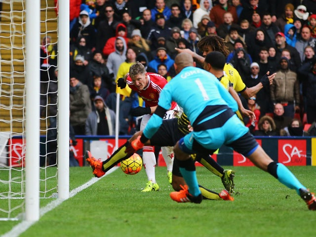 Result: Deeney own goal hands United win over Watford