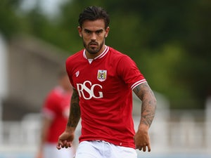 Marlon Pack of Bristol City during the Pre Season Friendly match between Bath City and Bristol City at Twerton Park on July 10, 2015