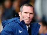 Oxford manager Michael Appleton looks on during the Sky Bet League Two match between Cambridge United and Oxford United at The Abbey Stadium on October 11, 2014