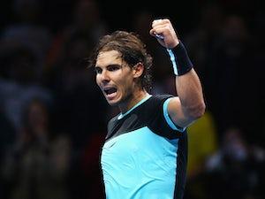Nadal battles past Dimitrov in Shanghai