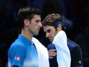 Roger Federer storms past Novak Djokovic