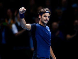 """Federer """"really happy"""" with opening win"""