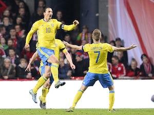 Ibrahimovic double sends Sweden to Euros