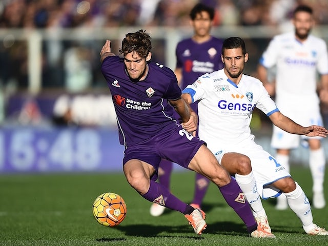 Result: Kalinic rescues point for Fiorentina