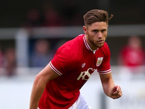 Wes Burns of Bristol City during the Pre Season Friendly match between Bath City and Bristol City at Twerton Park on July 10, 2015