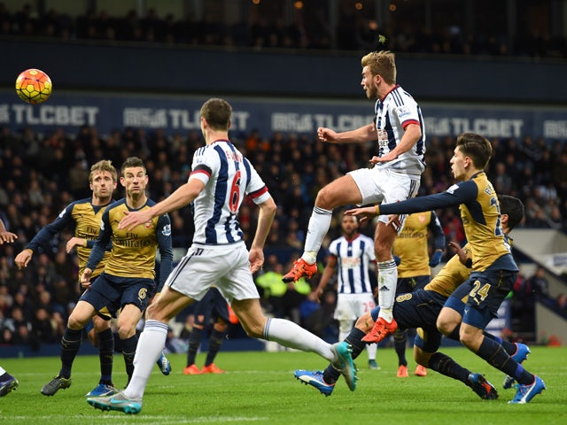 Result: Arteta own goal gives West Brom victory