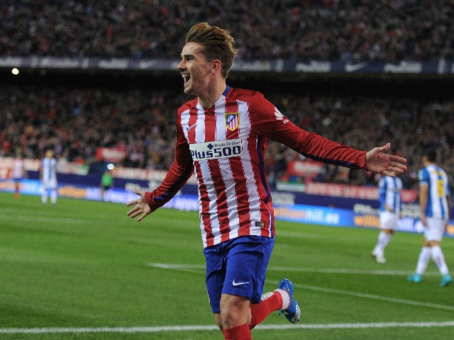 Result: Griezmann fires Atletico further clear