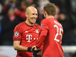 Team News: Ribery, Robben on bench for Bayern